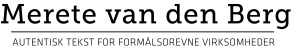 Merete van den Berg