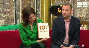 Bogen '107 danske Pippi-piger´ præsenteres i Go'Morgen Danmark.